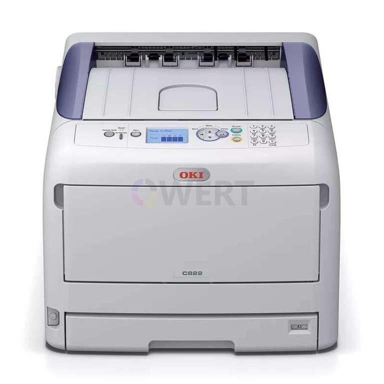Ремонт принтера OKI C822
