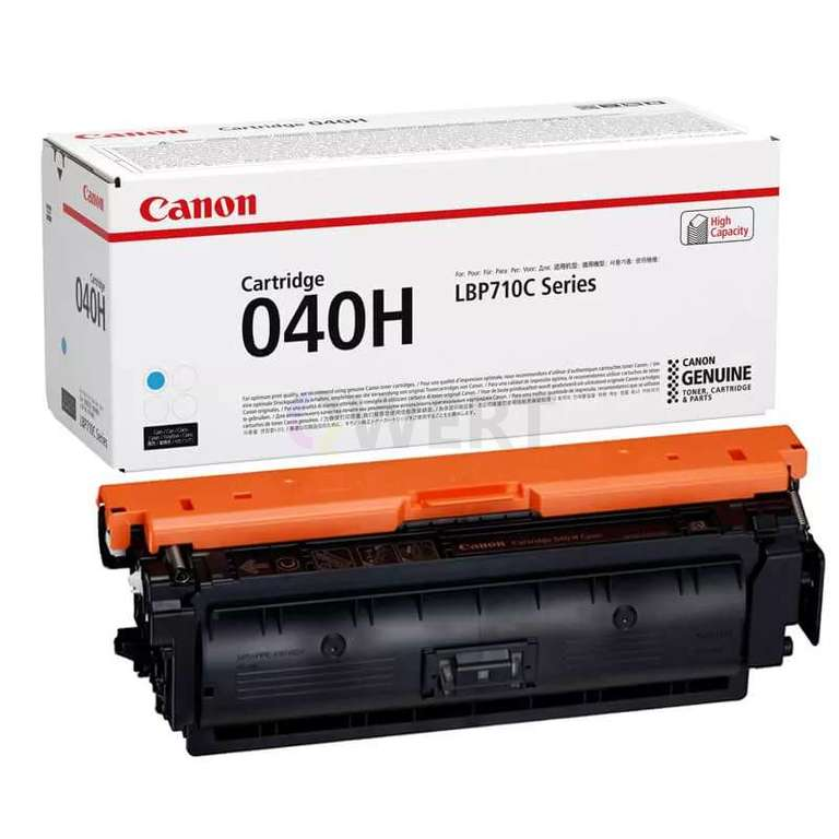 Заправка картриджа Canon Cartridge 040HC