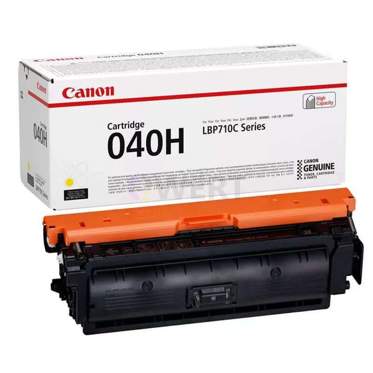 Заправка картриджа Canon Cartridge 040HY