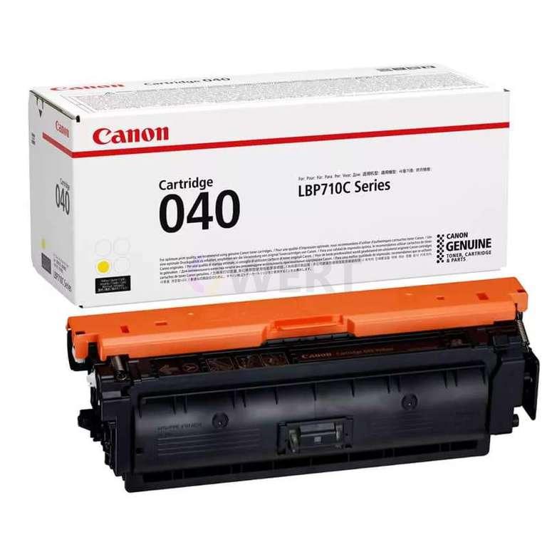 Заправка картриджа Canon Cartridge 040Y