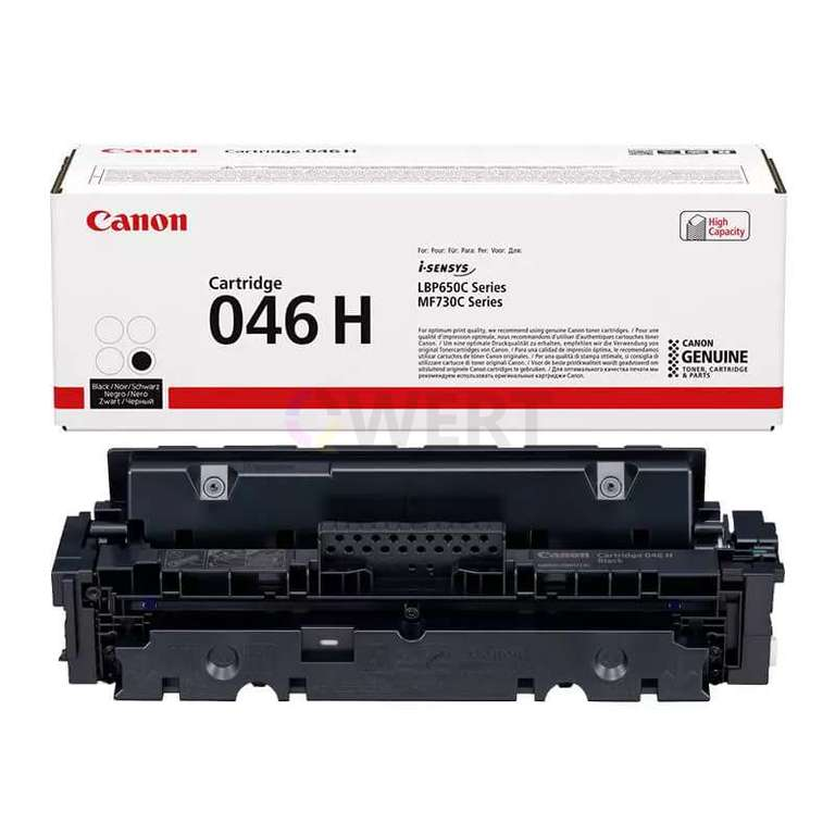 Заправка картриджа Canon Cartridge 046HBk
