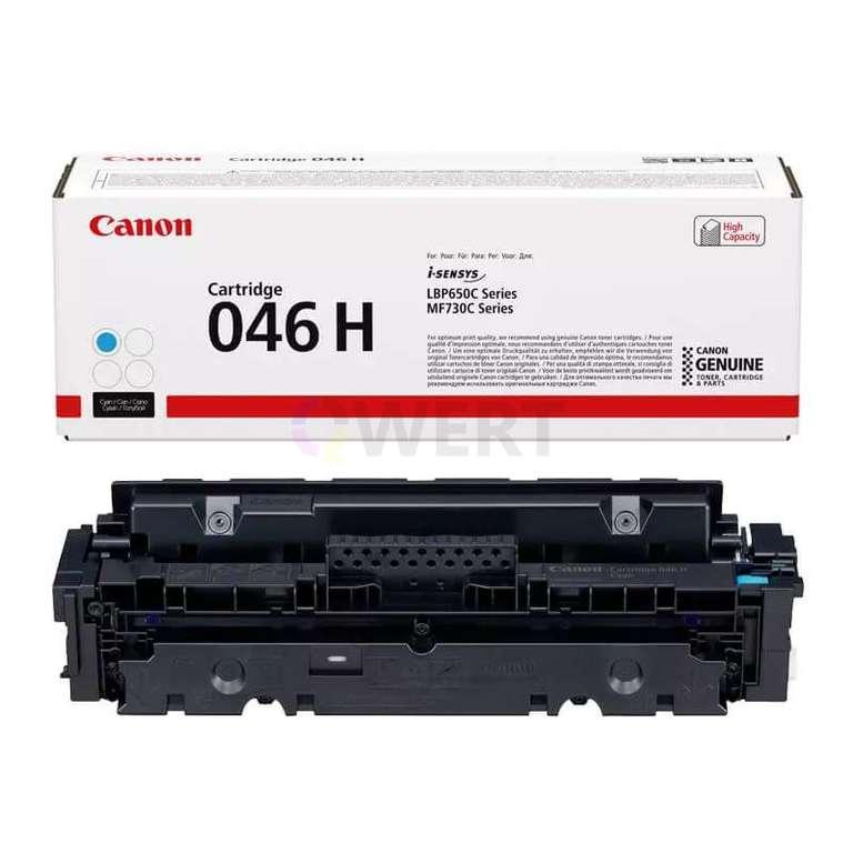 Заправка картриджа Canon Cartridge 046HC