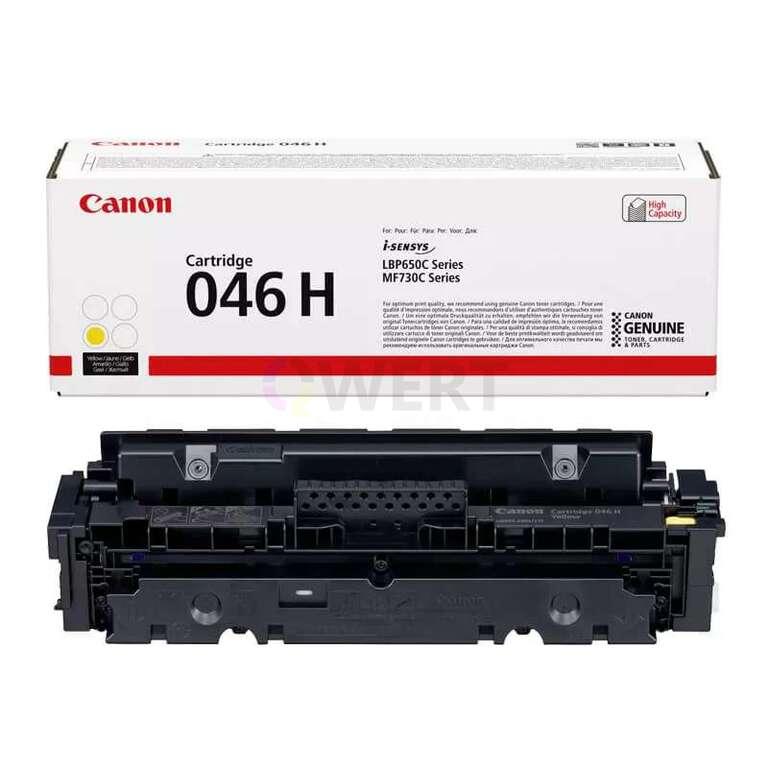 Заправка картриджа Canon Cartridge 046HY