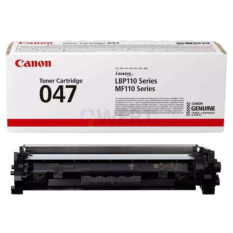 Заправка картриджа Canon Cartridge 047