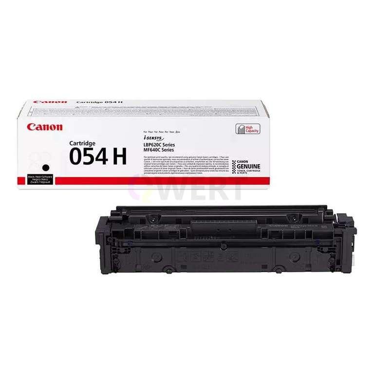 Заправка картриджа Canon Cartridge 054HBk