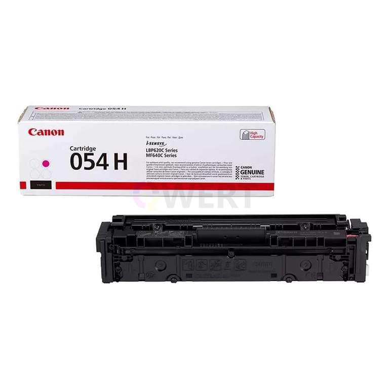 Заправка картриджа Canon Cartridge 054HM
