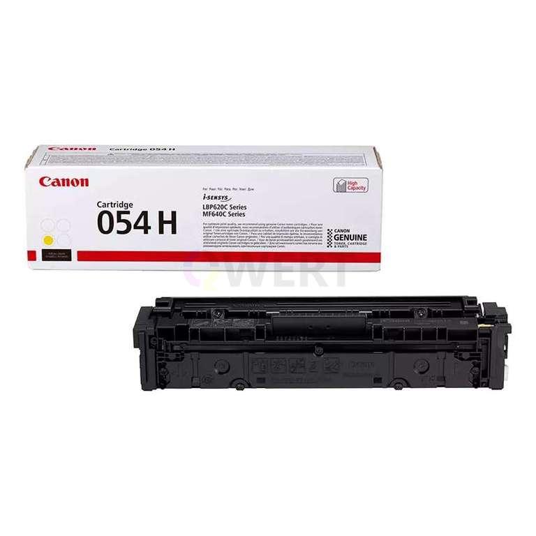 Заправка картриджа Canon Cartridge 054HY