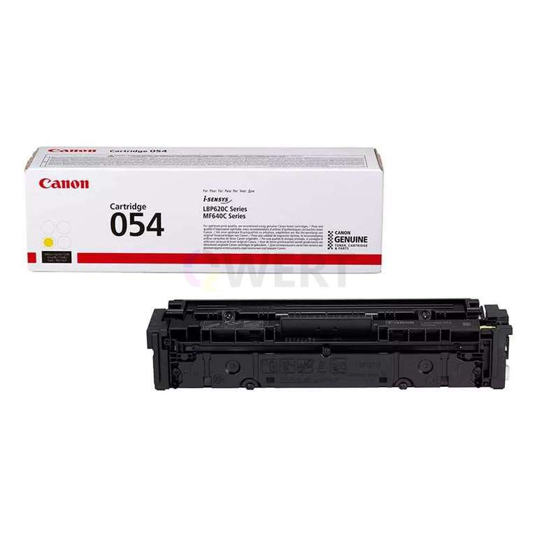 Заправка картриджа Canon Cartridge 054Y