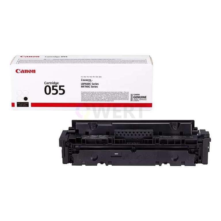 Заправка картриджа Canon Cartridge 055Bk