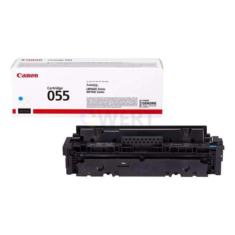 Рециклинг картриджа Canon Cartridge 055 C