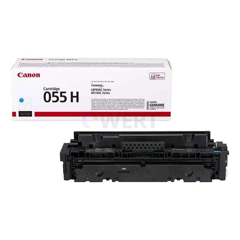 Заправка картриджа Canon Cartridge 055HС