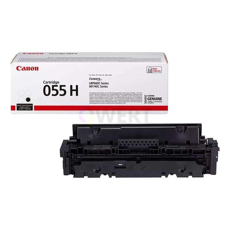 Рециклинг картриджа Canon Cartridge 055H Bk
