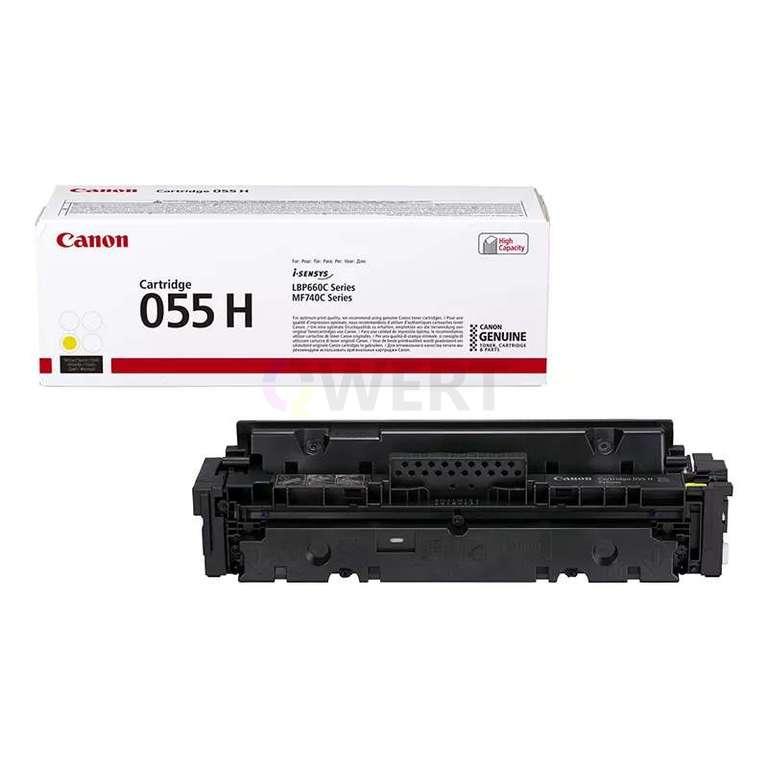 Заправка картриджа Canon Cartridge 055HY