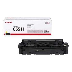 Рециклинг картриджа Canon Cartridge 055H Y