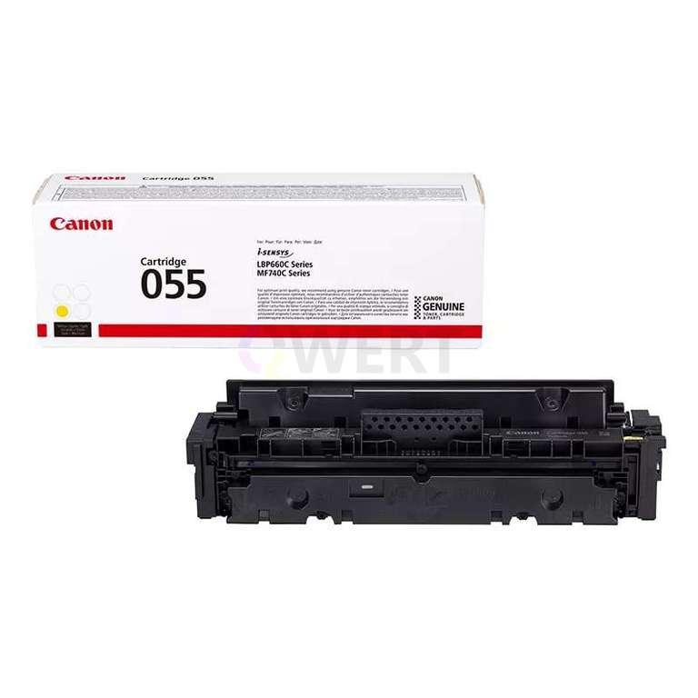 Рециклинг картриджа Canon Cartridge 055 Y