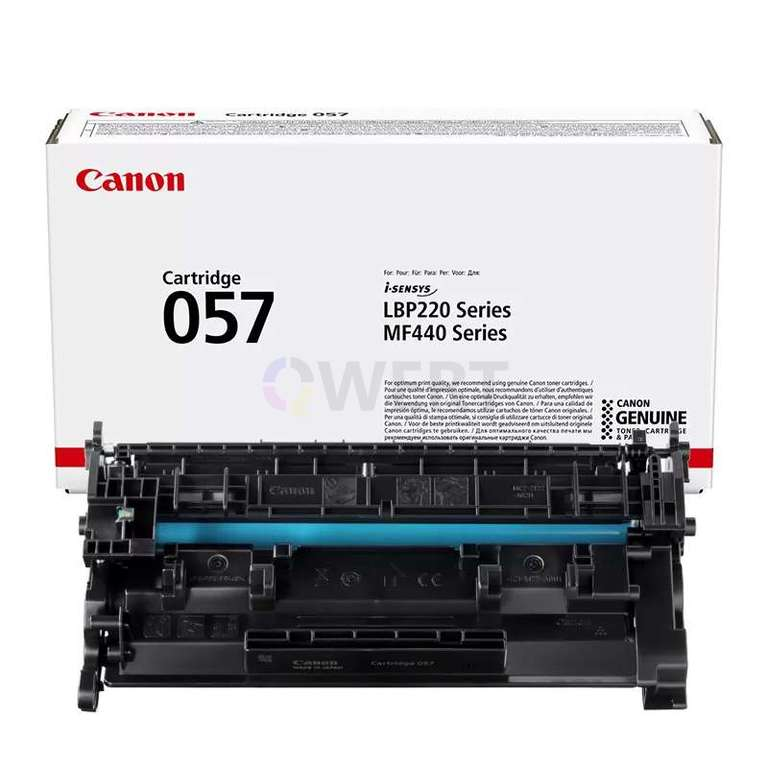 Заправка картриджа Canon Cartridge 057