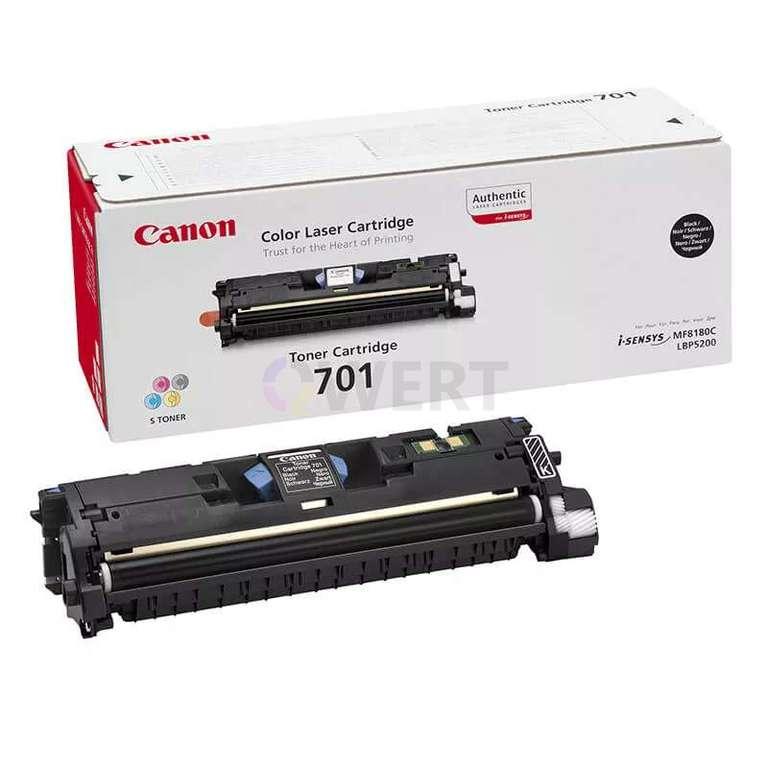 Заправка картриджа Canon Cartridge 701Bk