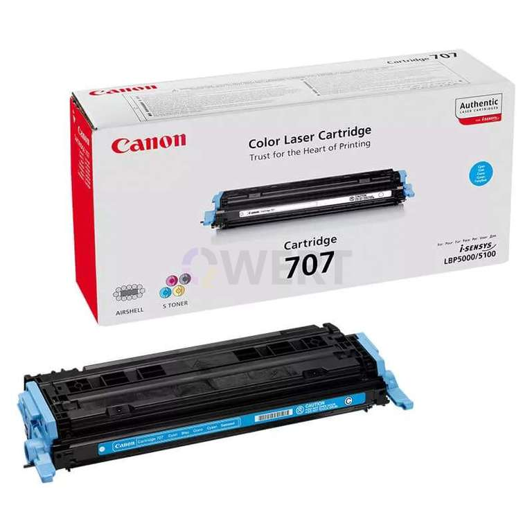 Заправка картриджа Canon Cartridge 707C