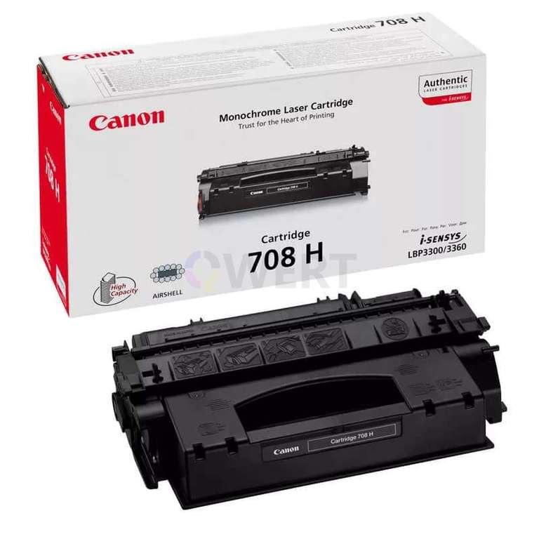 Заправка картриджа Canon Cartridge 708H
