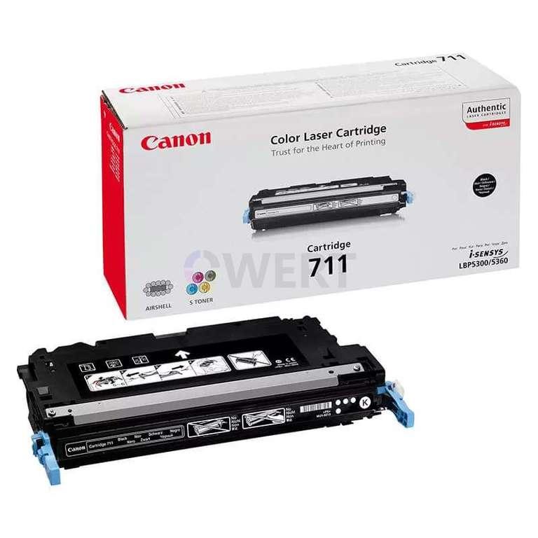 Заправка картриджа Canon Cartridge 711Bk