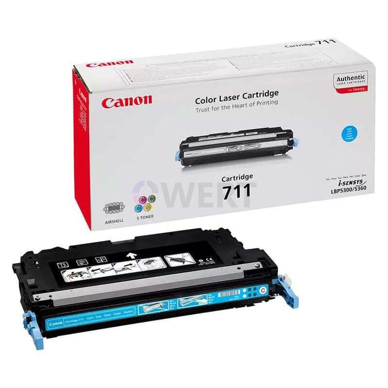 Заправка картриджа Canon Cartridge 711C
