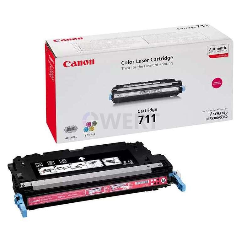 Заправка картриджа Canon Cartridge 711M