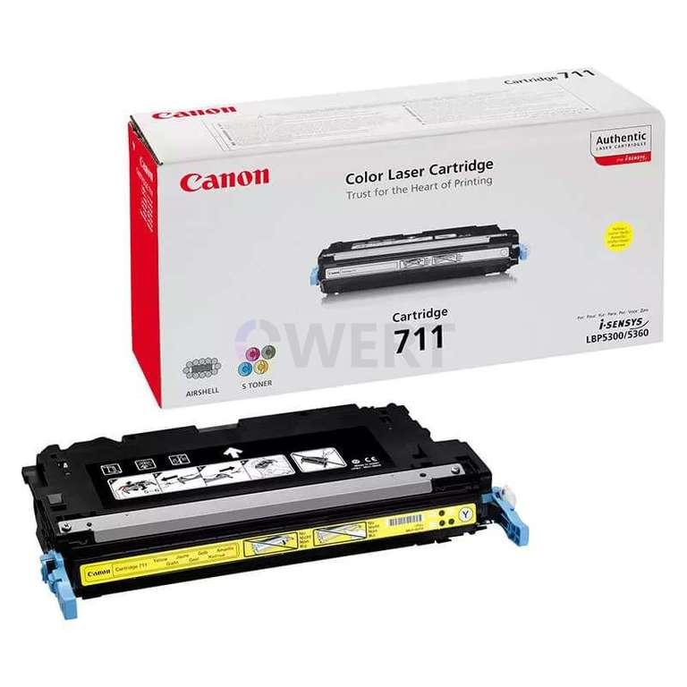 Заправка картриджа Canon Cartridge 711Y