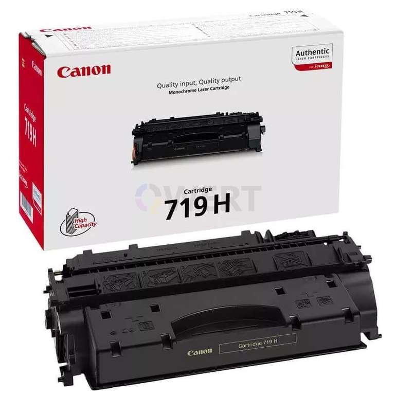 Заправка картриджа Canon Cartridge 719H