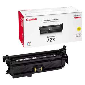 Заправка картриджа Canon Cartridge 723Y