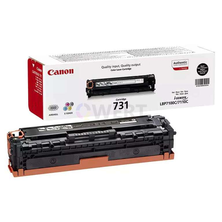 Заправка картриджа Canon Cartridge 731Bk