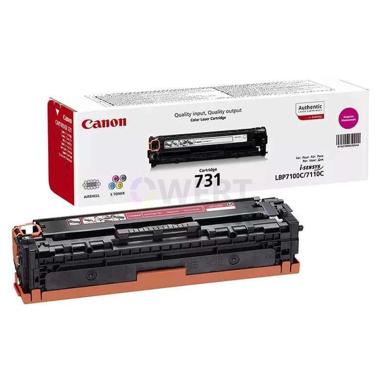 Заправка картриджа Canon Cartridge 731M