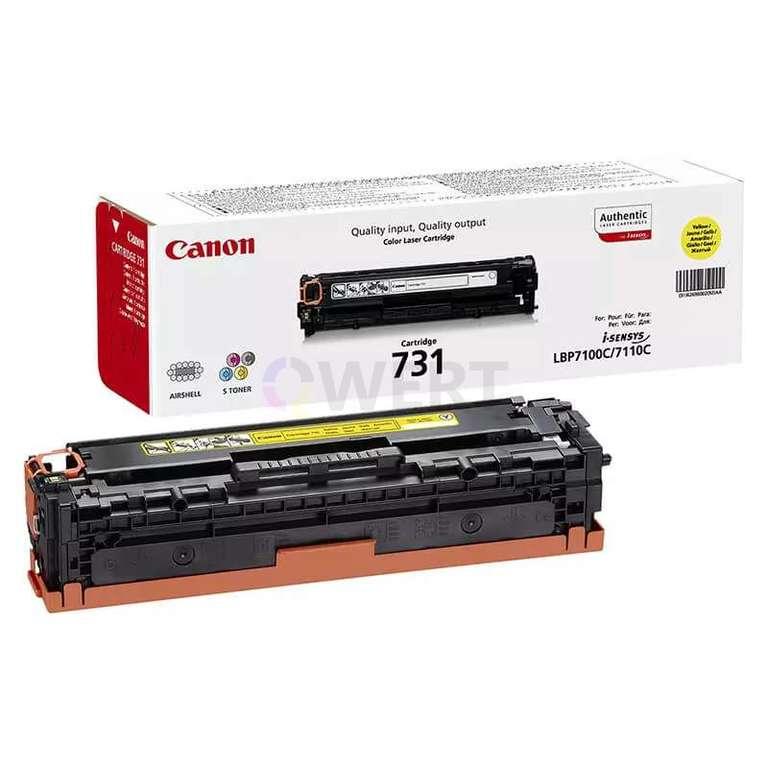 Заправка картриджа Canon Cartridge 731Y