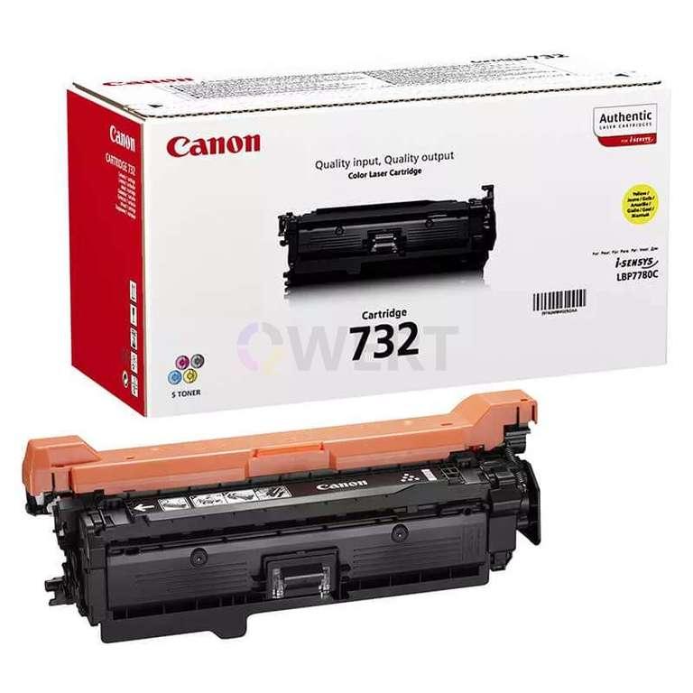 Заправка картриджа Canon Cartridge 732Y