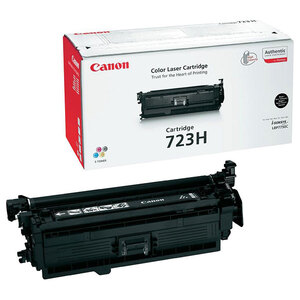 Совместимый картридж Canon Cartridge 723H Bk