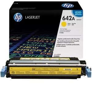 Заправка картриджа HP CB402A (642A)
