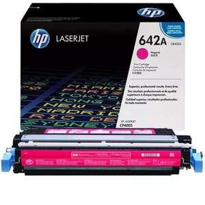 Заправка картриджа HP CB403A (642A)