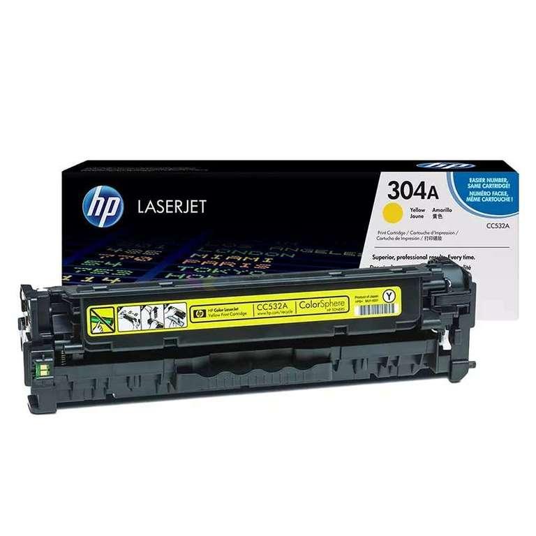 Совместимый картридж HP CC532A (304A)