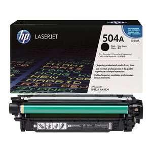 Заправка картриджа HP CE250A (504A)