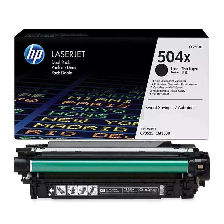 Совместимый картридж HP CE250X (504X)
