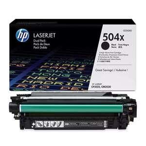 Заправка картриджа HP CE250X (504X)