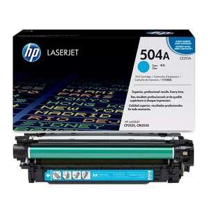 Заправка картриджа HP CE251A (504A)