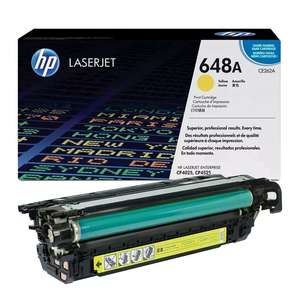 Заправка картриджа HP CE262A (648A)