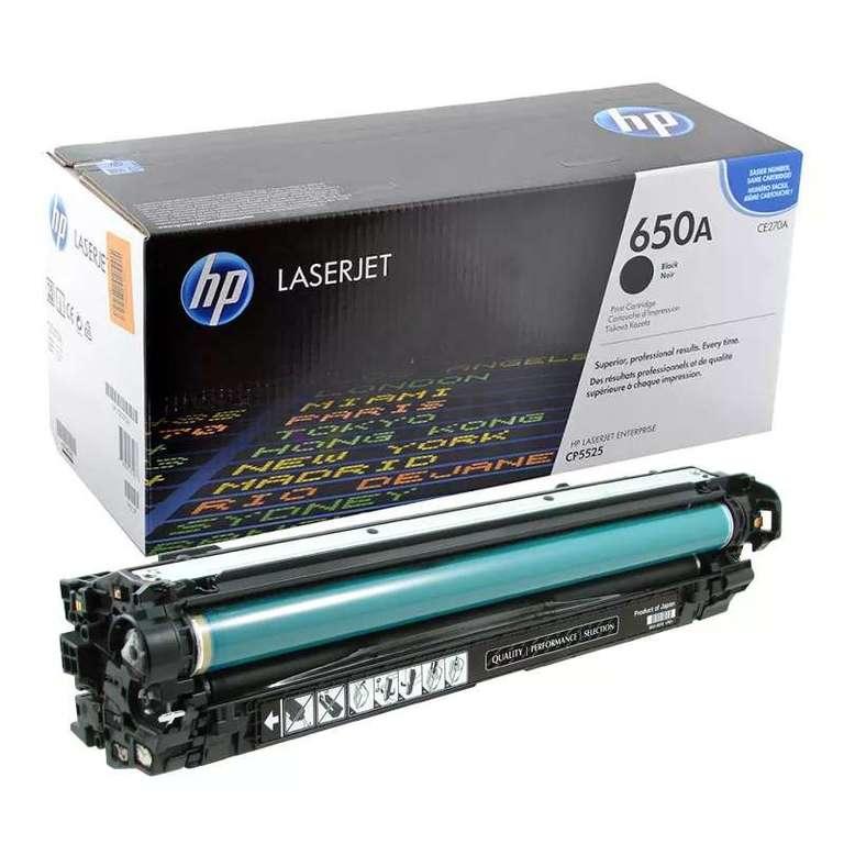 Совместимый картридж HP CE270A (650A)