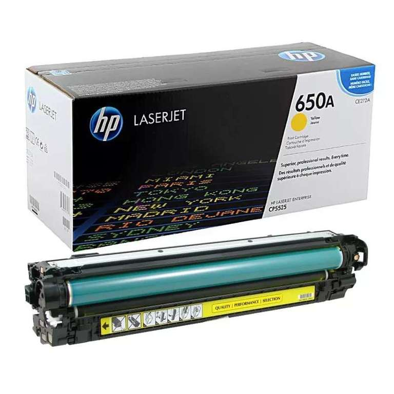 Совместимый картридж HP CE272A (650A)