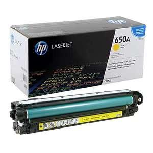 Заправка картриджа HP CE272A (650A)