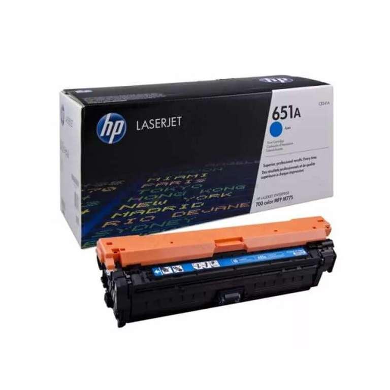 Совместимый картридж HP CE341A (651A)