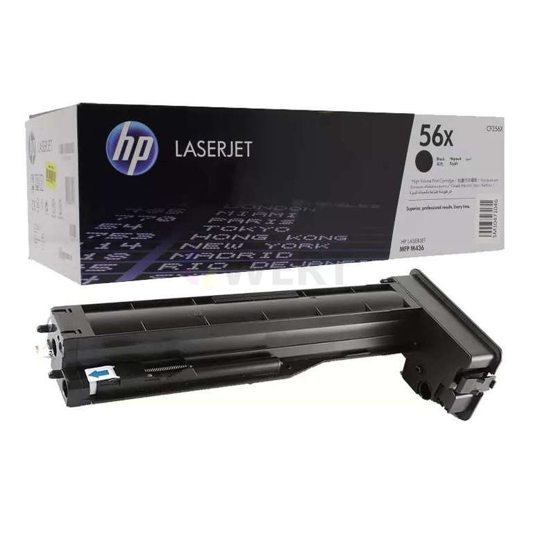 Заправка картриджа HP CF256X (56X)