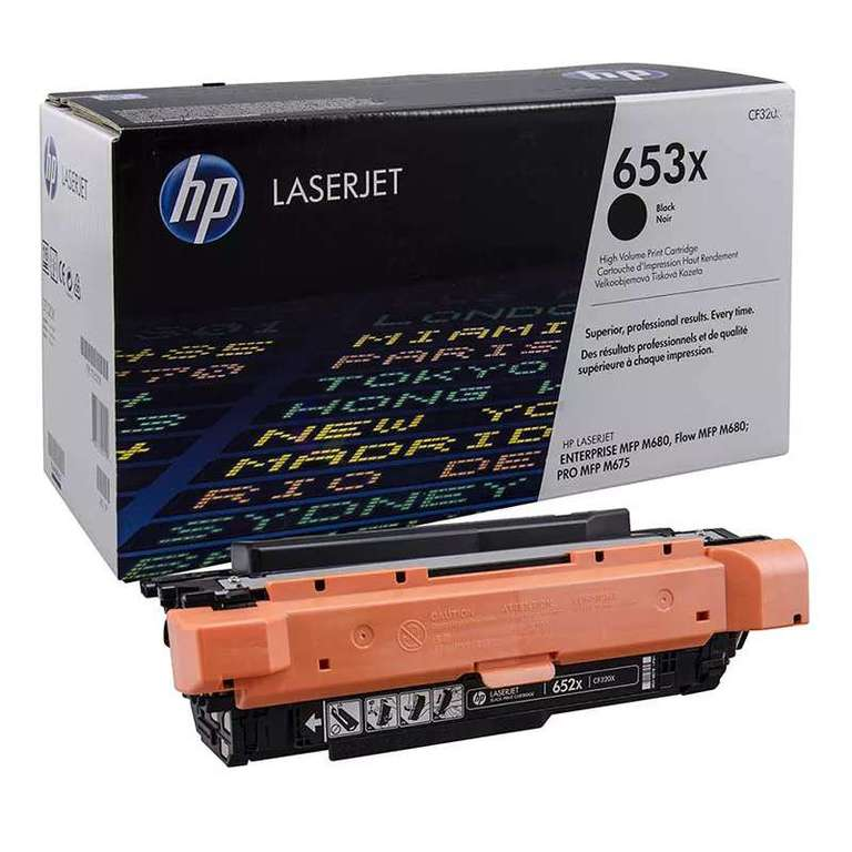 Заправка картриджа HP CF320X (653X)