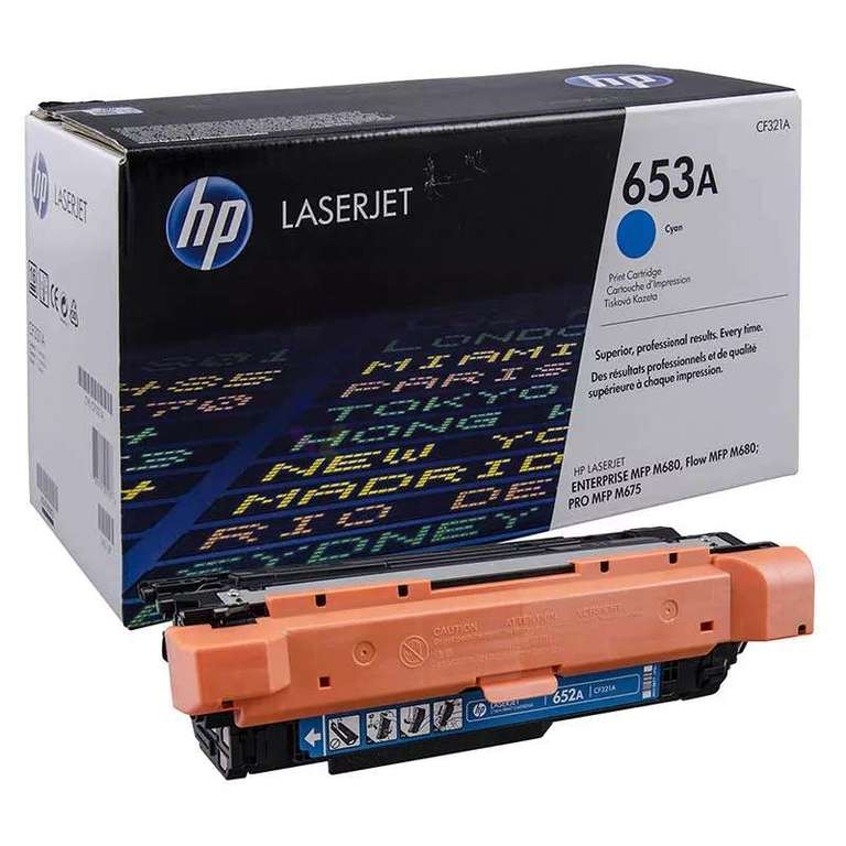 Заправка картриджа HP CF321A (653A)