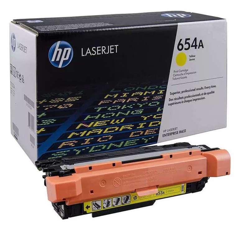 Заправка картриджа HP CF332A (654A)